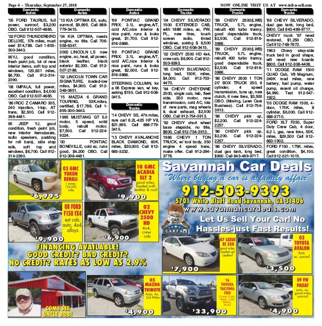 Contact us for Free Classifieds in Savannah