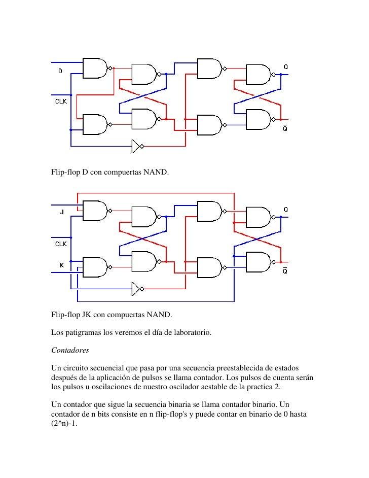 Schema Collegamento Linergy : Circuito contador flip flop jk proyectos electronicos