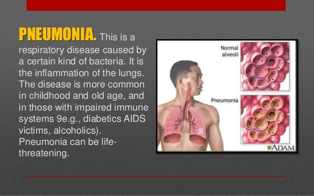 Is pneumonia a communicable disease?
