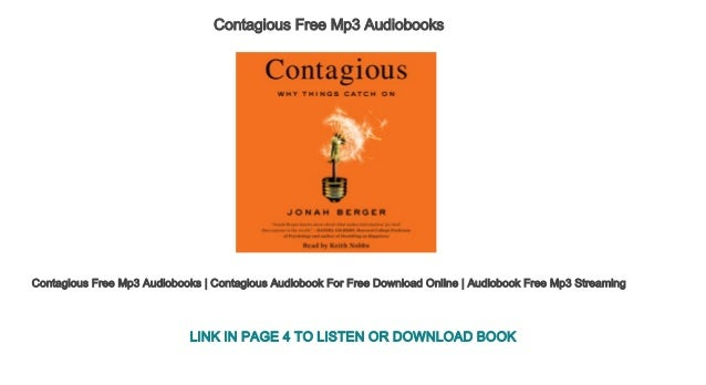 contagious free mp3 download