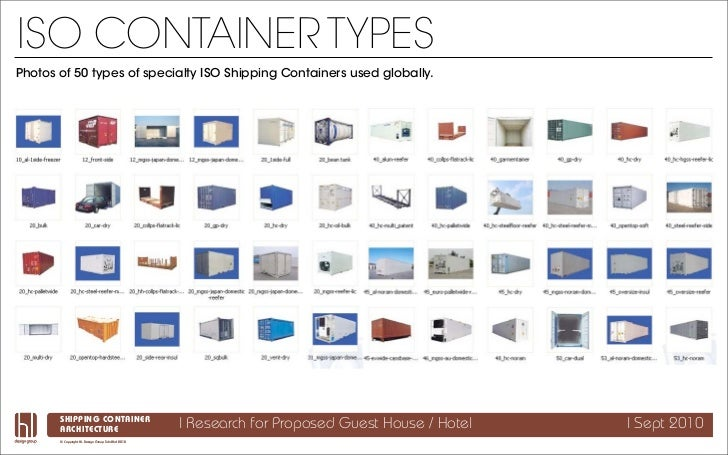 Shipping Container Architecture Research