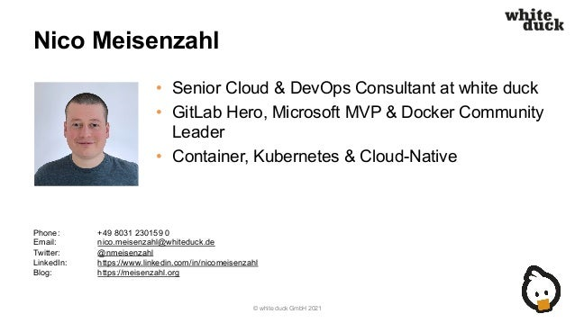 Cloud Native Day: Cloud-native Anwendungsentwicklung im Jahr 2021 Slide 2
