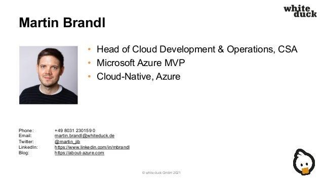 Cloud Native Day: Cloud-native Anwendungsentwicklung im Jahr 2021 Slide 3
