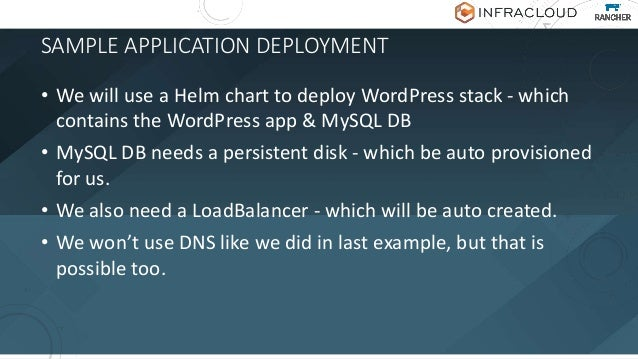 OH, WAIT, WHAT IS HELM? • Helm is a package manager for Kubernetes • Tiller - Repo Server • Chart - a package • Helm is th...