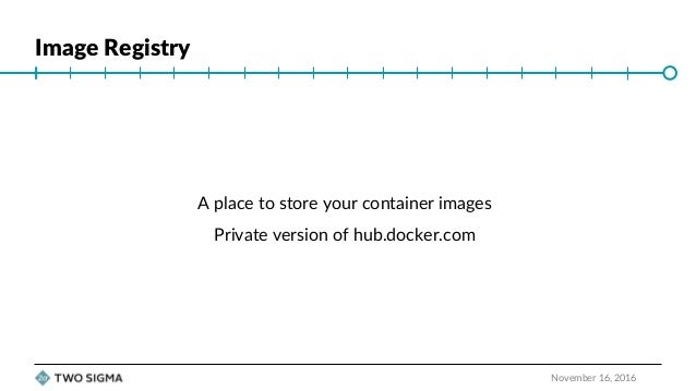 """ContainerDays NYC 2016: """"Securing Your Docker Image Registry for Production"""" (Jason Heiss) Slide 2"""