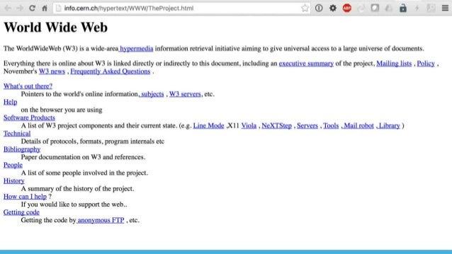 THE PAST OF THE WEB GitHub node.js Mesos AngularJS S iPad Touch WebRTC React.js Docker 2009 2010 2011 2013