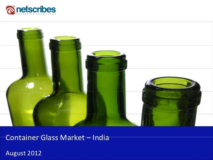 Insert Cover Image using Slide Master View                             Do not distortContainerGlassMarket–Container Gla...