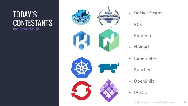 Container Orchestration Wars