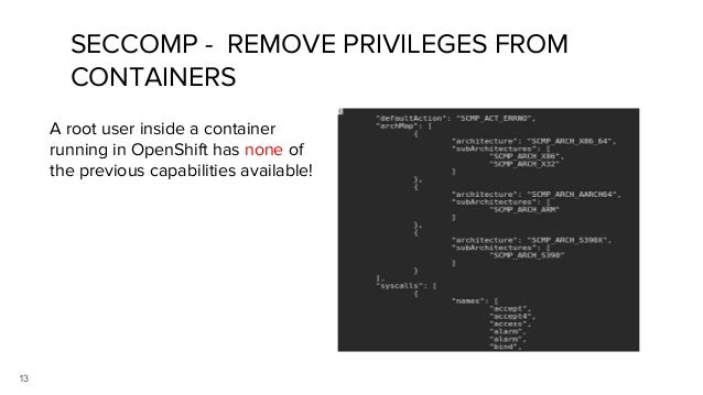 Veer's Container Security