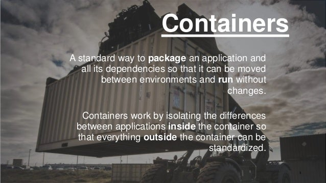 Containers as Infrastructure for New Gen Apps Slide 3