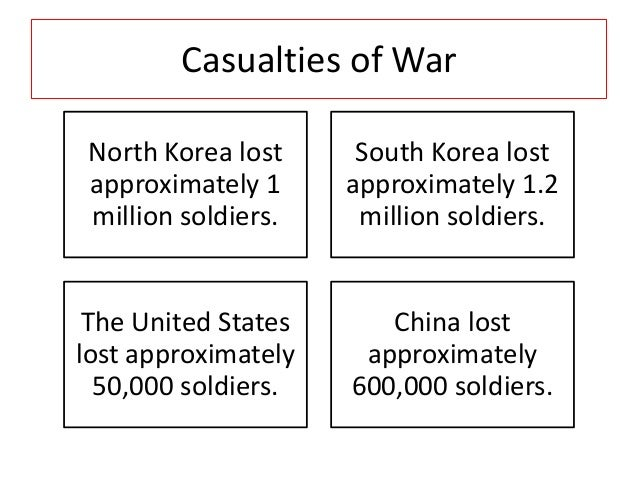 korean war effects