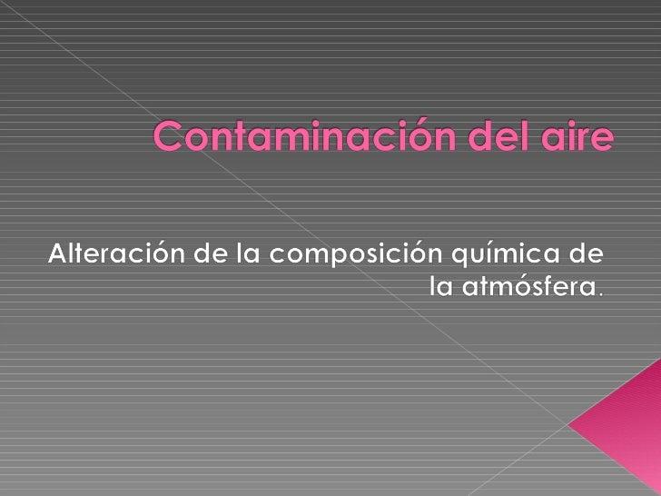 Contamina[1].. Slide 1