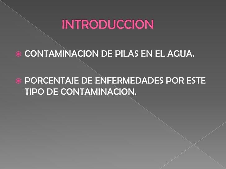 ContaminacióN Slide 2