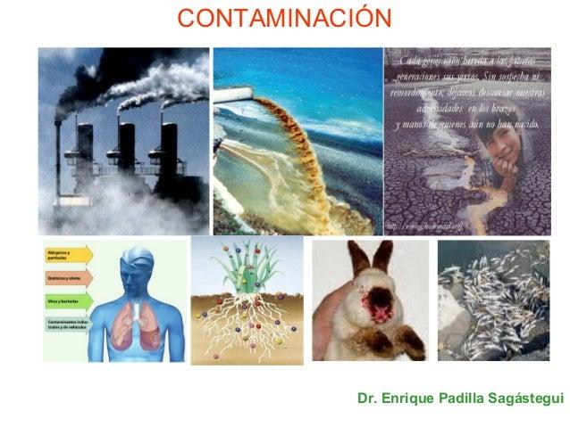CONTAMINACIÓN Dr. Enrique Padilla Sagástegui