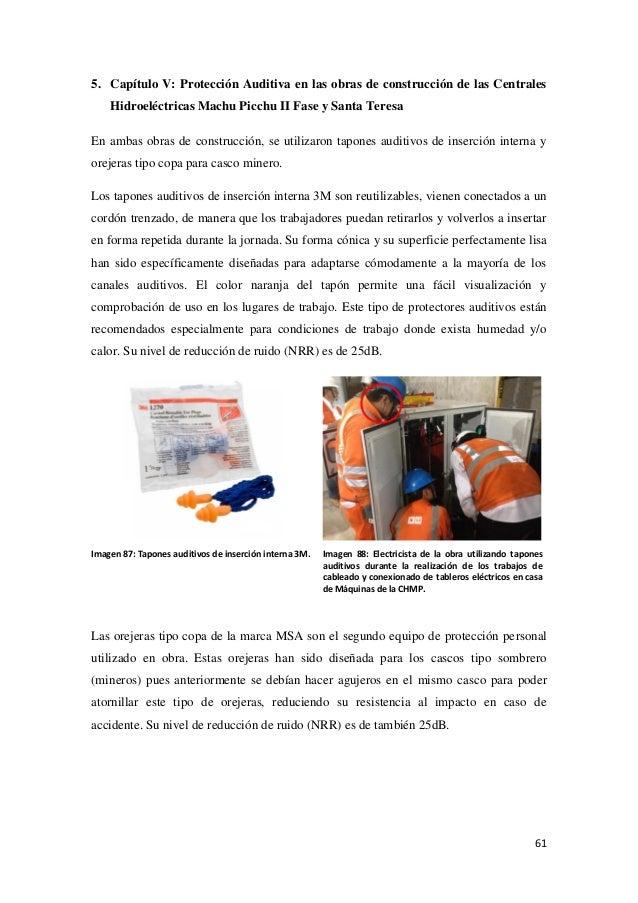 Contaminación acústica en la construcción de centrales hidroeléctricas