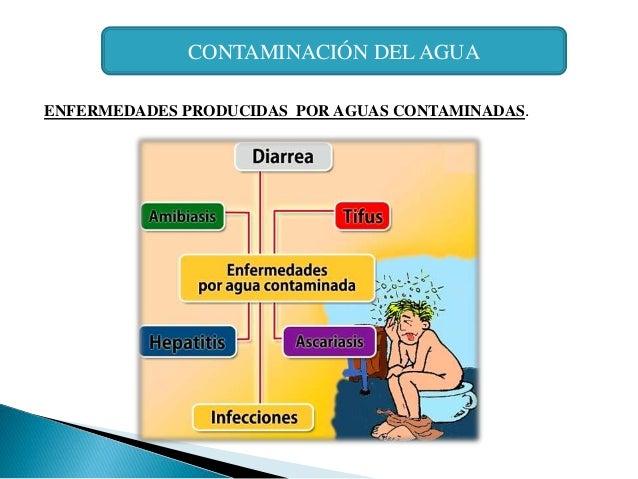 enfermedades por agua sucia