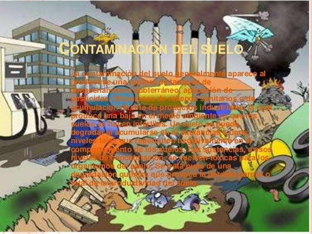 Contaminaci n del suelo - Suelo para ninos ...