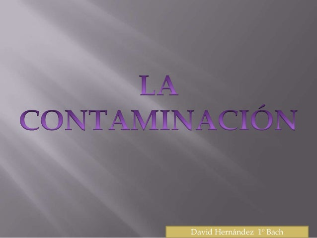 David Hernández 1º Bach