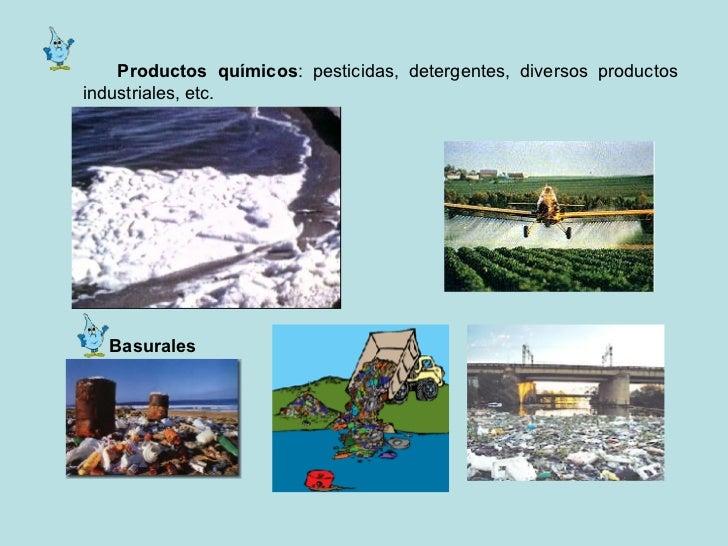 Contaminacion del agua for Informacion sobre el suelo