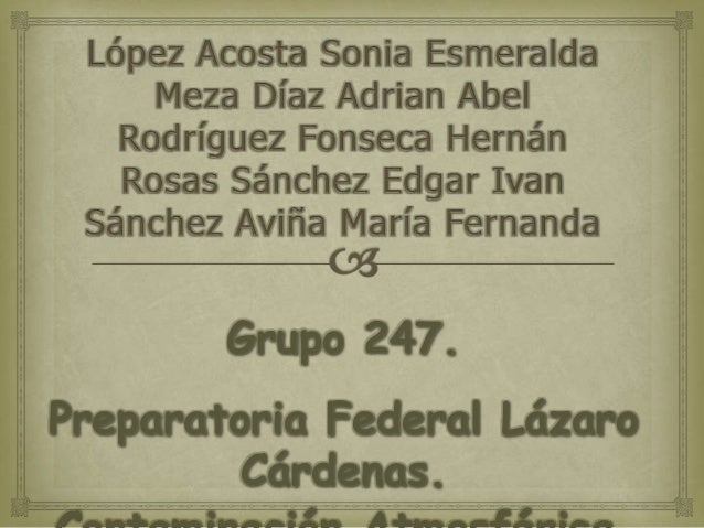 Grupo 247.Preparatoria Federal LázaroCárdenas.