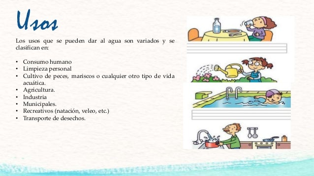 Contaminacion del agua for Peces de agua fria para consumo humano