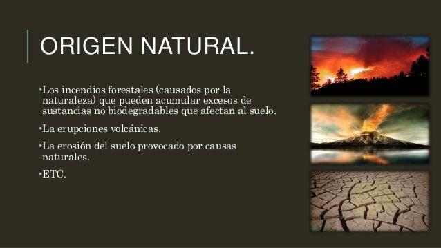 Contaminacion del suelo for Significado de suelo