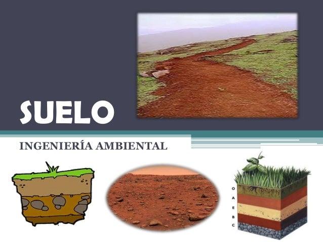 Contaminacion del suelo for Tipo de suelo 1