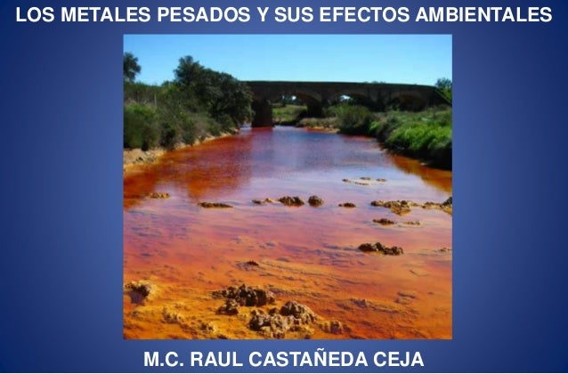 contaminacion del agua consecuencias pdf