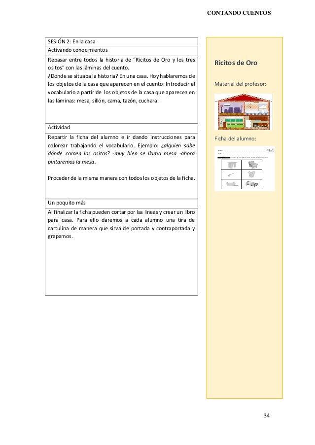 Contando cuentos. Recursos para la enseñanza del español como lengua …