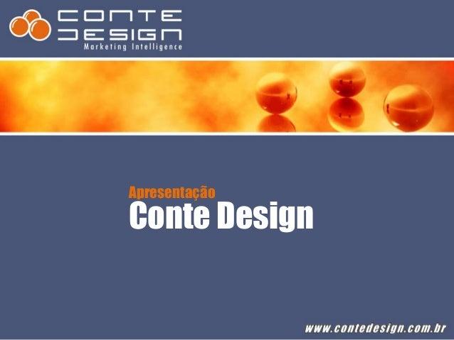 Apresentação Conte Design