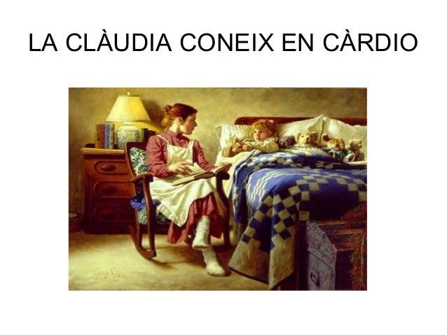LA CLÀUDIA CONEIX EN CÀRDIO