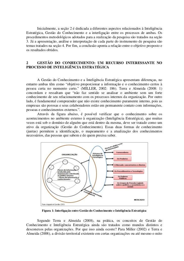 Gestão do Conhecimento: um Importante Recurso para a Inteligência Estratégica Slide 3