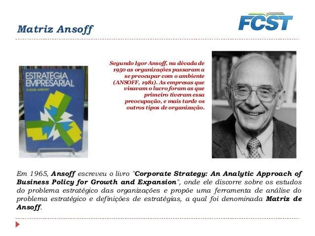 ansoff 1965 corporate strategy pdf