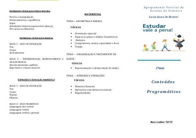 Agrupamento Vertical deEXPRESSÃO E EDUCAÇÃO FÍSICO-MOTORA                                                                 ...