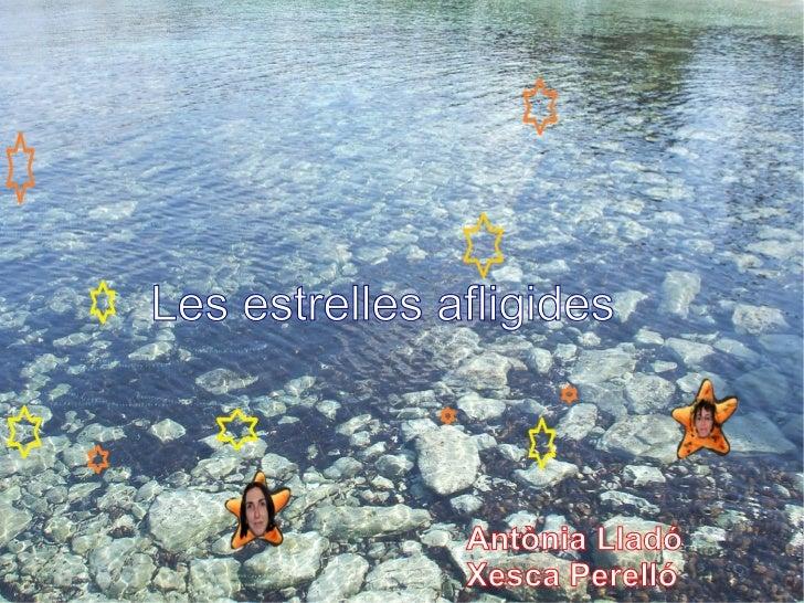 Les estrelles afligides               Antònia Lladó               Xesca Perelló