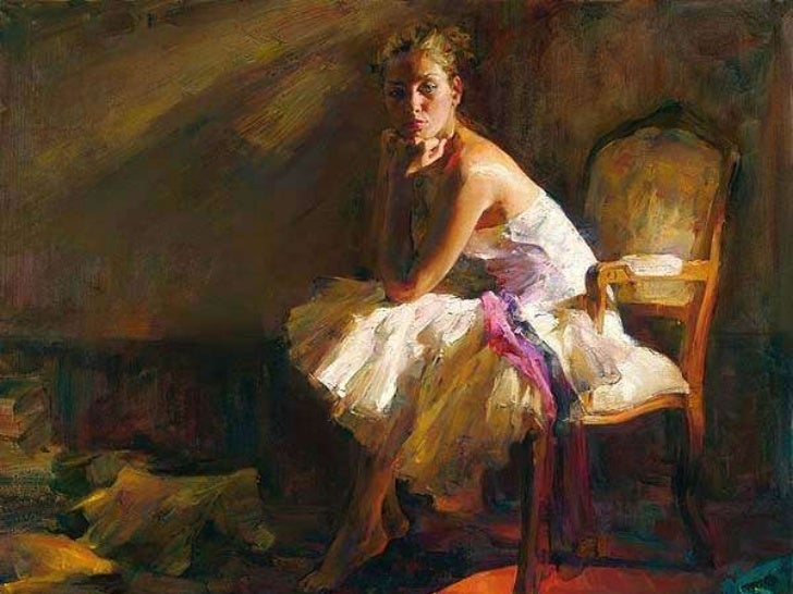 Contemplation...Paintings by Michael & Inessa Garmash