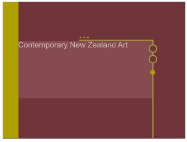Contemporary New Zealand Art pt1
