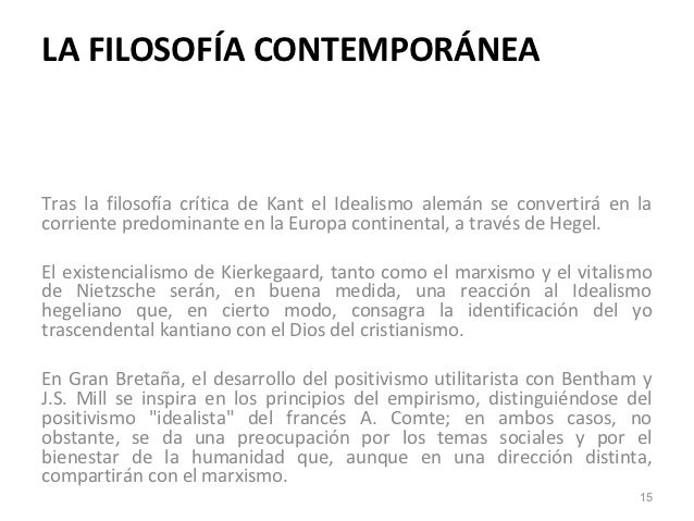 Contemporanea for Caracteristicas de la contemporanea