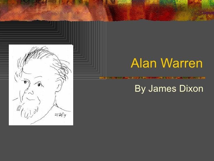 Alan Warren By James Dixon