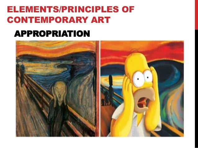 10 Elements Of Art : Contemporary art elements and principles