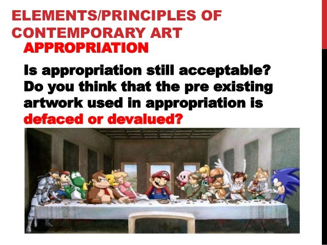 Contemporary Art Elements and Principles