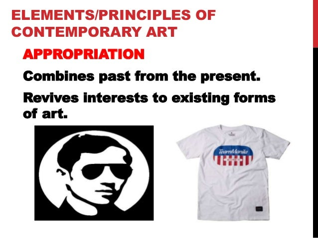 Elements Of Fine Arts : Contemporary art elements and principles