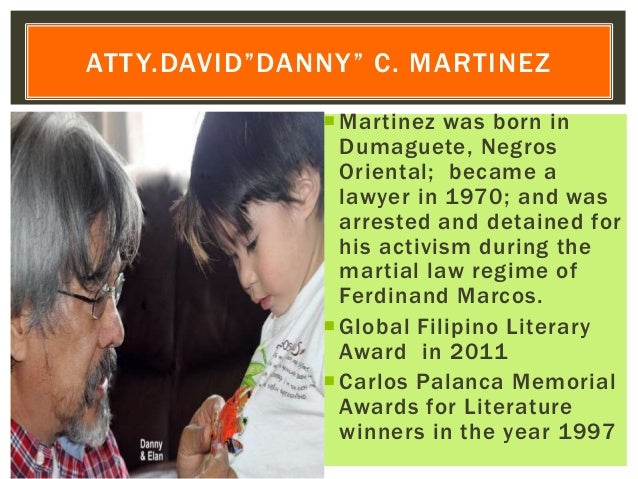 Martinez was born in Dumaguete, Negros Oriental; became a lawyer in 1970; and was arrested and detained for his activism ...