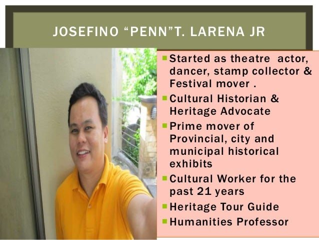 Started as theatre actor, dancer, stamp collector & Festival mover . Cultural Historian & Heritage Advocate Prime mover...