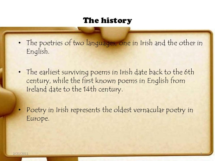 irish poets Following in the footsteps of irish literary giants like james joyce, william butler yeats, and oscar wilde, many irish americans have added to the great literary.