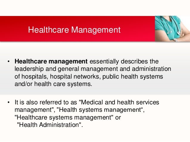 Dissertation health care management
