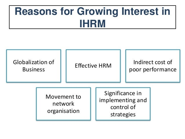 repatriation in hrm The purpose of this paper to examine the responses that international hrm needs to make to the challenges it faces with increasing responsibilities in the potential high quality international managers, to prepare them for overseas assignments to ensure successful appointments and to plan their repatriation and retention.