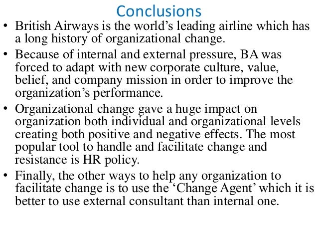 british airways evaluate the implementation and resistance British airways' global customer relations program takes off with astute solutions' epowercenter case study british airways is the united kingdom's following a rigorous tender evaluation process, ba chose.