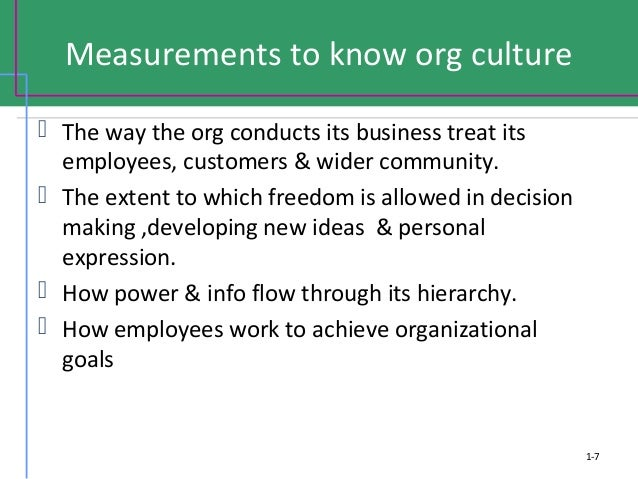 distinguishing strong from weak organizational culture What defines a weak organizational culture when organizations do not make it clear as to what is important and what is not thus, it is unlikely to have a strong influence on the actions of managers.