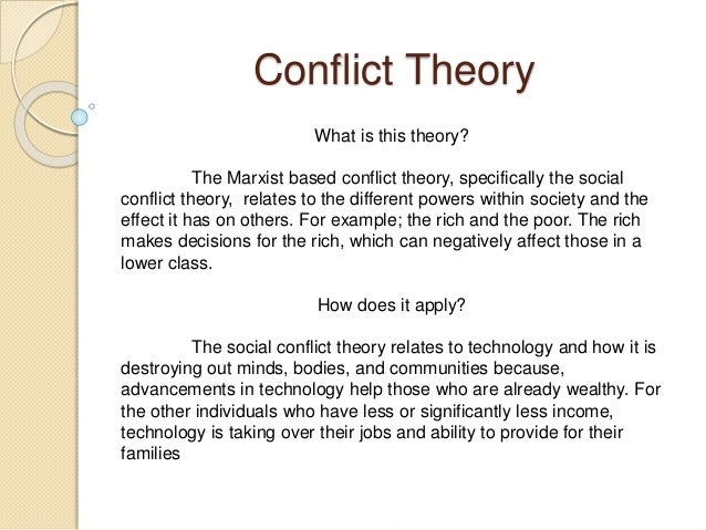 social conflict theory the green mile Start studying sociology chapter 16 learn vocabulary toynbee's cyclical theory of social change argues that societies c social conflict.